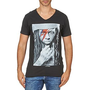 Kleidung Herren T-Shirts Eleven Paris KAWAY M MEN Schwarz