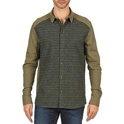 Vêtements Homme Chemises manches longues Eleven Paris VRAPP MEN Kaki