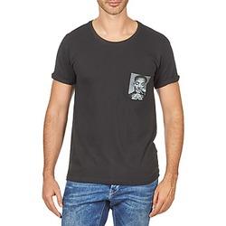 Vêtements Homme T-shirts manches courtes Eleven Paris WOLYPOCK MEN Noir