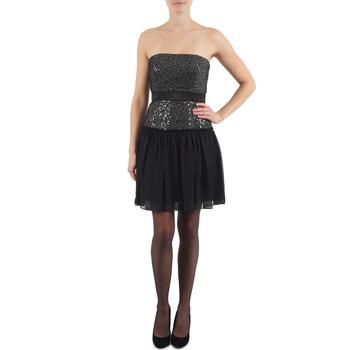 Kleidung Damen Kurze Kleider Manoukian JENNI Schwarz
