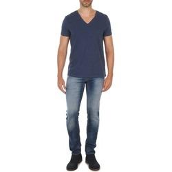 Vêtements Homme Jeans droit Meltin'pot MARTIN Bleu