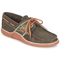 Chaussures Homme Chaussures bateau TBS GLOBEK Marron / Orange