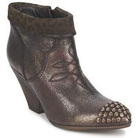 Schuhe Damen Ankle Boots Strategia AILLA Kaki