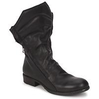 Schuhe Damen Boots Strategia FIOULI Schwarz