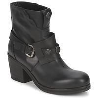 Schuhe Damen Low Boots Strategia MAUTAU Schwarz