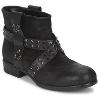 Schuhe Damen Boots Strategia LUMESE Schwarz