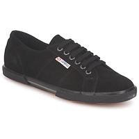 Schuhe Sneaker Low Superga 2950 Schwarz
