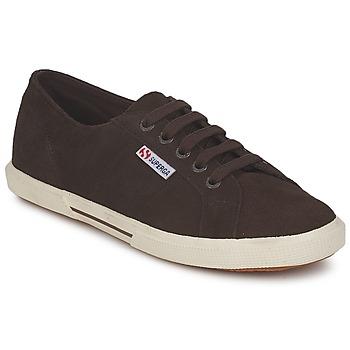 Schuhe Damen Sneaker Low Superga 2950 Schokolade