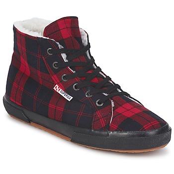 Schuhe Sneaker High Superga 2095 Rot
