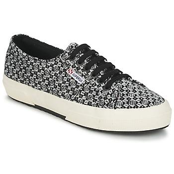 Scarpe Donna Sneakers basse Superga 2750 FANTASY Nero / Bianco