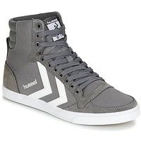 Schuhe Sneaker High Hummel TEN STAR HIGH Grau / Weiß