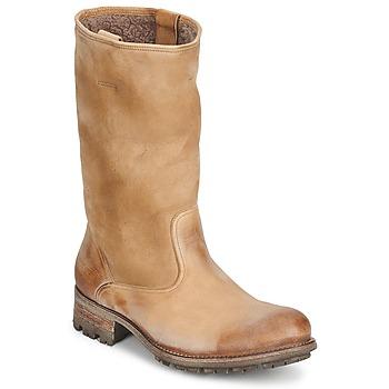 Schuhe Damen Klassische Stiefel n.d.c. VALLEE BLANCHE KUDUWAXOIL/DFA Braun