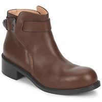 Schuhe Damen Boots Kallisté 5723 Braun