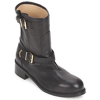 Schuhe Damen Boots Kallisté 5609 Schwarz