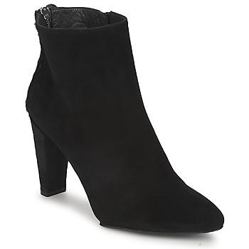 Schuhe Damen Boots Stuart Weitzman ZIPMEUP Schwarz