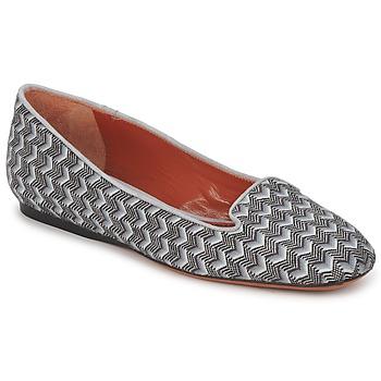 Schuhe Damen Slipper Missoni WM079 Grau