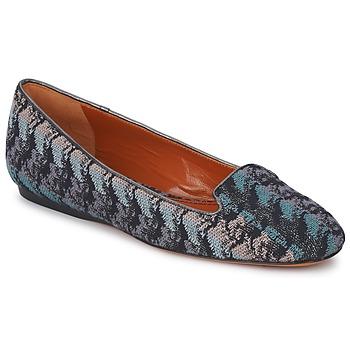 Schuhe Damen Slipper Missoni WM004 Blau
