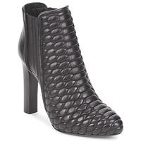 Schuhe Damen Low Boots Roberto Cavalli WDS227 Schwarz