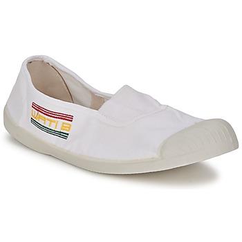 Schuhe Damen Ballerinas Wati B LYNDA Weiß
