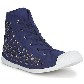 Schuhe Damen Sneaker High Wati B BEVERLY Marineblau