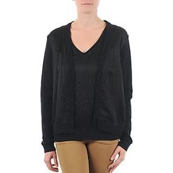 Abbigliamento Donna Gilet / Cardigan Majestic 238 Nero