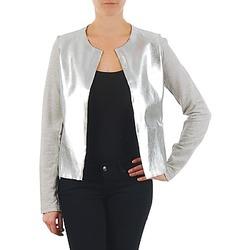 Abbigliamento Donna Giacche / Blazer Majestic 93 Grigio / Argento