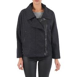Kleidung Damen Jacken Color Block 3222271 Schwarz