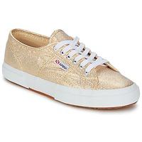 Chaussures Femme Baskets basses Superga 2751 LAME W Doré