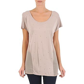 Abbigliamento Donna T-shirt maniche corte La City MC BEIGE Beige