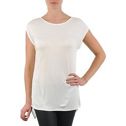 Kleidung Damen T-Shirts La City TS CROIS D6 Weiss