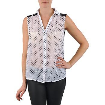 Kleidung Damen Hemden La City O DEB POIS Weiss