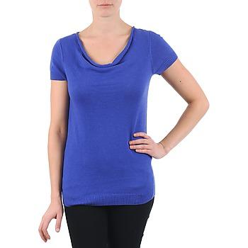 Abbigliamento Donna T-shirt maniche corte La City PULL COL BEB Blu