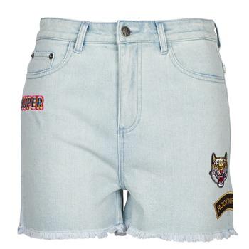 Abbigliamento Donna Shorts / Bermuda American Retro BORIS Blu
