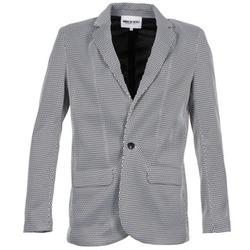 Kleidung Damen Jacken / Blazers American Retro JACKYLO Weiss / Schwarz