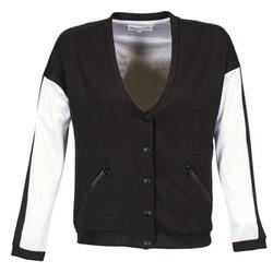 Kleidung Damen Jacken American Retro CHARONNE Schwarz / Weiss