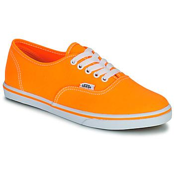 Chaussures Femme Baskets basses Vans AUTHENTIC LO PRO Orange pop