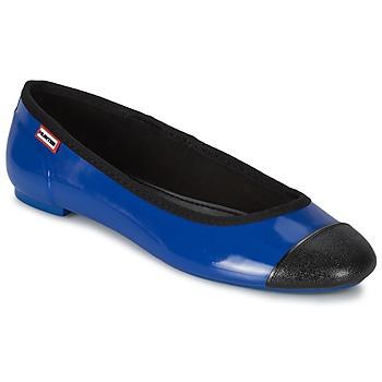Chaussures Femme Ballerines / babies Hunter ORIGINAL BALLET FLAT Cobalt