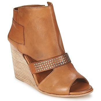 Schuhe Damen Low Boots OXS SPORT-320 Braun