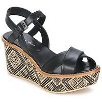 Chaussures Femme Sandales et Nu-pieds Stéphane Kelian BELLA 7 Noir