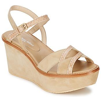 Schuhe Damen Sandalen / Sandaletten Stéphane Kelian BICHE 1 Beige