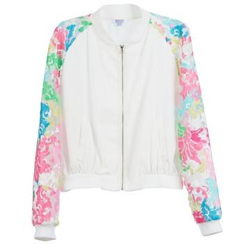 Kleidung Damen Jacken Brigitte Bardot BB44045 Weiß / Bunt