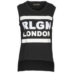 Abbigliamento Donna Top / T-shirt senza maniche Religion B123RGT41 Nero