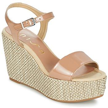 Chaussures Femme Sandales et Nu-pieds Unisa LITUAN Beige rosé