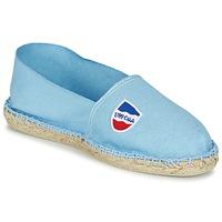 Schuhe Leinen-Pantoletten mit gefloch 1789 Cala CLASSIQUE Blau