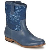 Schuhe Damen Boots Alba Moda FALINA Blau