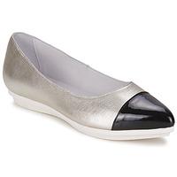 Schuhe Damen Ballerinas Alba Moda DRINITE Silbern / Schwarz