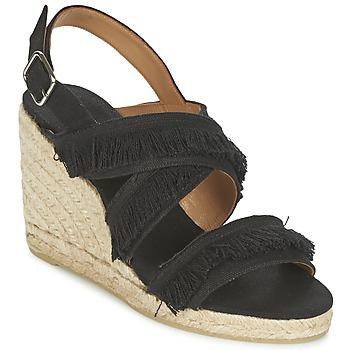 Schuhe Damen Sandalen / Sandaletten Castaner BEGGA Schwarz