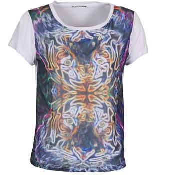 Vêtements Femme T-shirts manches courtes DDP PORIX Multicolore