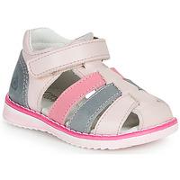 Schuhe Mädchen Sandalen / Sandaletten Citrouille et Compagnie FRINOUI Blau / Hell