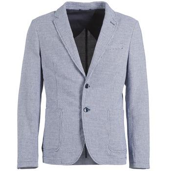 Vêtements Homme Vestes / Blazers Benetton CHEVOTU Bleu
